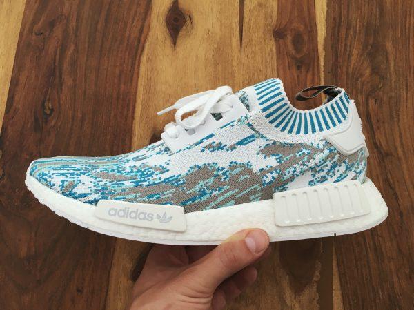 sneakersnstuff sns datamosh aqua blue limited sneaker adidas