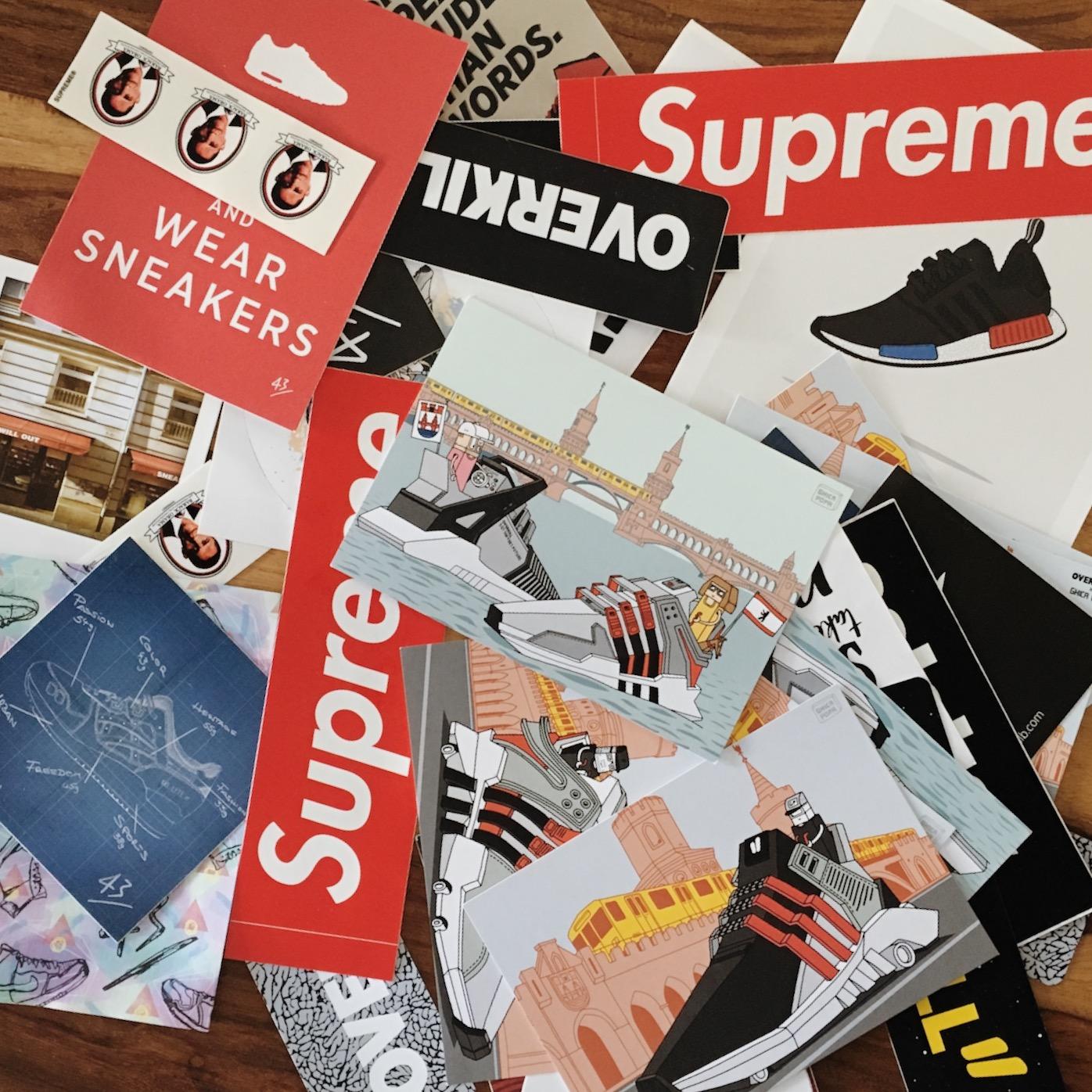 supreme adidas overkill tgwo 34einhalb sticker obama sneaker